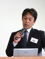 最優秀成果賞を受賞した田中さん