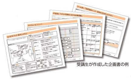 企画書のサンプル