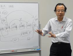 高橋塾長によるレクチャー「基本システム」